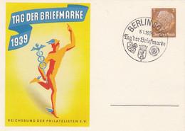 Deutsches Reich Privat Postkarte 1939 - Private