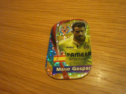 Mario Gaspar Villarreal Spanish Football Soccer Europe's Champions 2018 Greek Metal Tag - Other