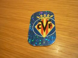 Villarreal Team Badge Logo Sign Spanish Football Soccer Europe's Champions 2018 Greek Metal Tag - Other
