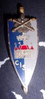Insigne Centre Instruction Service Du Matériel - CISM - Hueste