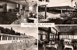 IMOUZZER Du KANDAR (Maroc) - Café De L'Hermitage - Cpsm écrite En 1955 - Très Bon état - 2 Scans - Altri