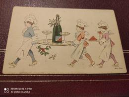 Ancienne Carte Postale - Xavier Sager - Cuisiniers D'amour - Serie N°5 - A. Noyer Paris - Sager, Xavier
