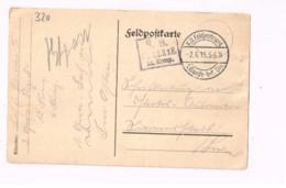 Feldpostkarte.Expédié De 1.Garde Inf-Div. - Lettres & Documents
