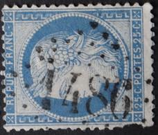 60C Déf, Obl GC 1486 La Ferrière-aux-étangs (74 Seine Inférieure ) Ind 9 ; Frappe Très Nette - 1849-1876: Klassik