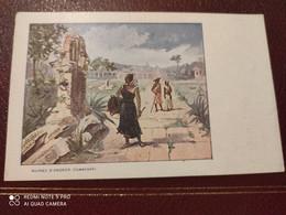 Ancienne Carte Postale  - Gaufrettes & Biscuits Vignals Fils & Cie - Ruines D'angkor Cambodge - Other Illustrators