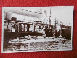 SOUS MARIN BRITANIQUE CARTE PHOTO - Submarines