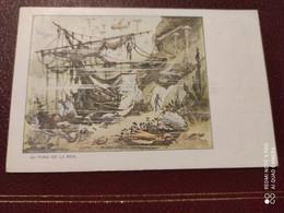 Ancienne Carte Postale  - Gaufrettes & Biscuits Vignals Fils & Cie - Au Fond De La Mer - Other Illustrators
