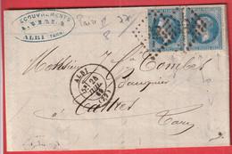 N°29 PAIRE GC 55 ALBI TARN POUR CASTRES - 1849-1876: Klassik