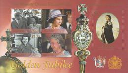 2002 Tokelau QEII Golden Jubilee Miniature Sheet Of 5 MNH - Tokelau