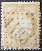 59 (cote 8 €) Déf, Obl GC 1495 La Ferté-Milon (2 Aisnes ) Ind 3 ; Frappe Très Nette & Centrée - 1849-1876: Classic Period