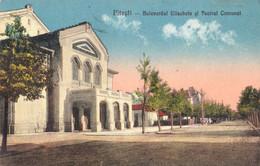 ROMANIA : PITESTI / ARGES : BULEVARDUL ELISABETA Si TEATRUL COMUNAL ~ 1925 - '929 (ah357) - Rumania