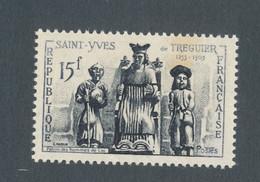 FRANCE - N° 1063 NEUF** SANS CHARNIERE AVEC SAINT YVES PLUS CLAIR - 1956 - Curiosities: 1950-59 Mint/hinged