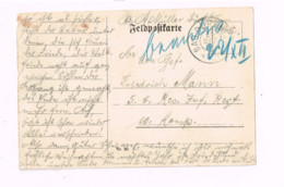 Feldpostkarte.Expédié De Bad Dürkheim à 5.Res.Inf.Rgt. - Lettres & Documents