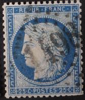 60C Déf, Obl GC 1498 La Ferté-st-Aubin (43 Loiret ) Ind 4 ; Frappe Centrée - 1849-1876: Période Classique