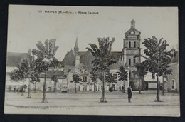 Baugé - Place Carnot - Other Municipalities