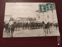 Ancienne Carte Postale  - Militaire - Gray - 12me Hussards - Presentation De L'etendard - War 1914-18