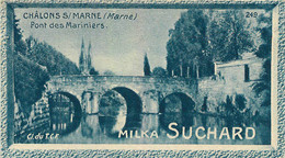 CHROMO MILKA SUCHARD CHALONS SUR MARNE  CL DU T.C.F. - Suchard