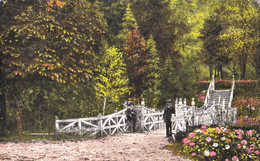 PITESTI / ARGES : PARCUL TRIVALEA - EDITURA LIBRARIEI MIHAIL LAZAR-FIU / PITESTI ~ 1930 (ah366) - Rumania
