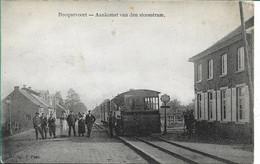 Becquevoort Aankomst Van De Stoom Tram - Bekkevoort