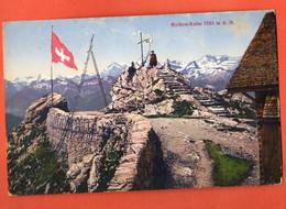 ZON-12  SELTEN  Mythen-Kulm BELEBT Geodesie  Künzli 5618 . Gelaufen 1915 Mit Stempel  ARMEEKORPS Freiburg I. B. - SZ Schwyz