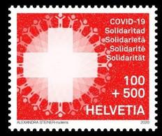 Timbre Solidarité COVID19 - Nuevos