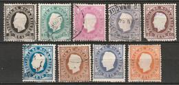 Mozambique 1886 Sc 15-23  Set Most Used - Mosambik