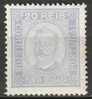 Ponta Delgada 1892 Sc 4a  MH* - Ponta Delgada