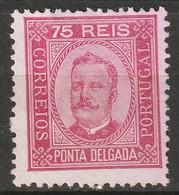 Ponta Delgada 1892 Sc 7a  MNG - Ponta Delgada