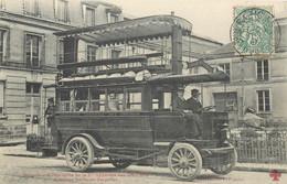 "CPA FRANCE 75 ""Paris, Omnibus Automobile"" - Other"
