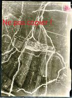 VUE AERIENNE FRANCAISE - PARALLELE DE SAINT SOUPLET PRES DE AUBERIVE - SOMMEPY MARNE 1917 - GUERRE 1914 - 1918 - 1914-18