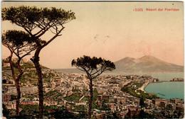 41tha 1247 CPA - NAPOLI DAL POSSILIPO - Napoli
