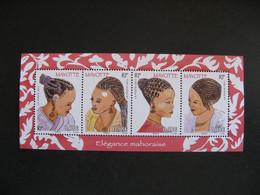 Mayotte: TB Feuille N° 241 Au N° 244, Neuve XX . - Ongebruikt