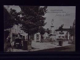 71104 . CHAUFFAILLES . PLACE ET MONUMENT AUX MORTS . 1926 . TABAC . CAFE - Autres Communes