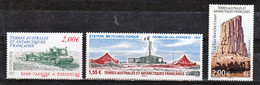 TAAF 702/704 Divers 2014 Neuf ** TB MNH Sin Charnela Faciale 5.55 - Unused Stamps