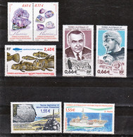 TAAF 686/692 Divers 2014 Neuf ** TB MNH Sin Charnela Faciale 7.82 - Unused Stamps