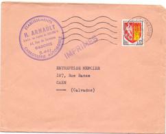 Omslag Enveloppe - Pub Reclame - Ets. H. Arnault , Garches - Stempel Cachet St Cloud Montretout 1965 - Sobres Tipos Y TSC (antes De 1995)