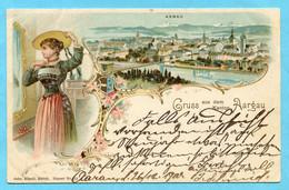 Gruss Aus Dem Kanton Aargau - Aarau 1900 - AG Argovie