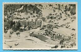 Fliegeraufname Palace Hotel Wengen 1939 - Luftbild SWISSAIR - BE Berne