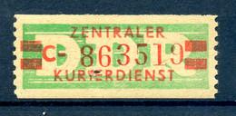 DDR ZKD 1959 Nr 31II C Postfrisch (408824) - Dienstzegels