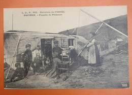 Environs Du PORTEL EQUIHEM.  Famille De Pêcheurs - Other Municipalities
