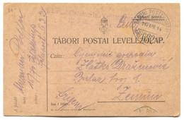AUSTRIA HUNGARY WW1 - K.u.K. FELDPOST 632, Traveled To Zemun, Year 1917. - WW1