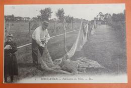 BERCK-VILLE. Fabrication Des Filets. - Berck