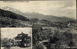 CPA Ebikon Kanton Luzern, Pension Hartenfels, Gebirge - LU Lucerne