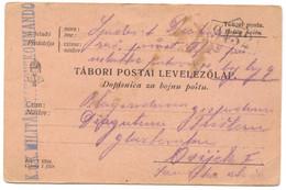 AUSTRIA HUNGARY WW1 - K.u.K. FELDPOST, Traveled To Osijek, Year 1914. - WW1