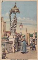 CHIOGGIA-VENEZIA-MADONNINA DEI PESCATORI-CARTOLINA  VIAGGIATA IL 3-10-1948 - Venezia (Venice)