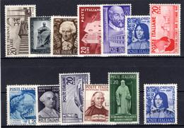 ITALIEN, 1949-1950 Zusammenstellung, Postfrisch - 1946-60: Mint/hinged