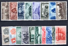 ITALIEN, 1950-1955 Zusammenstellung, Postfrisch - 1946-60: Mint/hinged