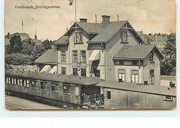 SUEDE - Oxelösunds, Järnvägsstation - Bahnhof - Gare - Suecia