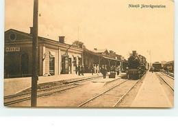 SUEDE - Nässjö, Järnvägsstation - Bahnhof - Gare - Suecia