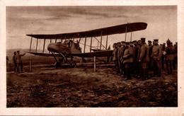 74197- Flugzeug Doppeldecker Militär Soldaten 1917 - 1914-1918: 1ra Guerra